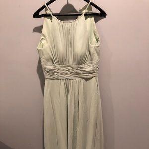 Azazie Dusty Sage Bonnie Bridesmaid Dress